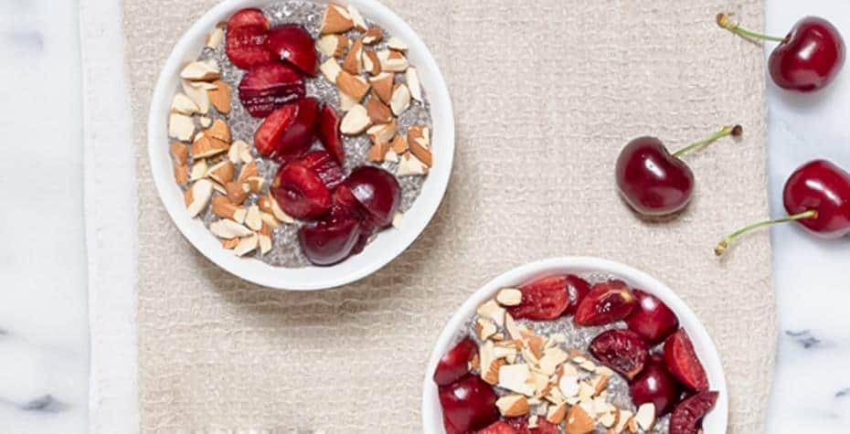 Healthy Holiday Pudding